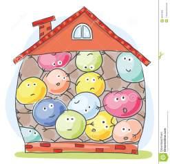 house-overcrowded-unhappy-inhabitants-cartoon-44631989