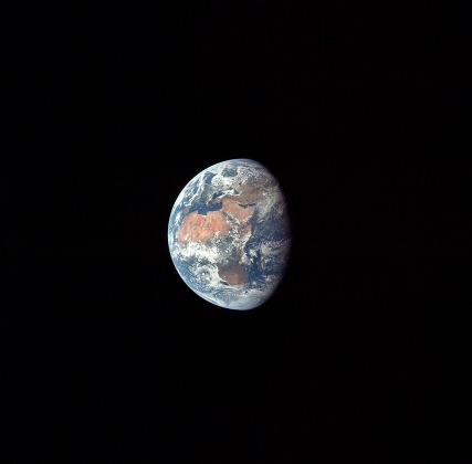 earth as seen from moon