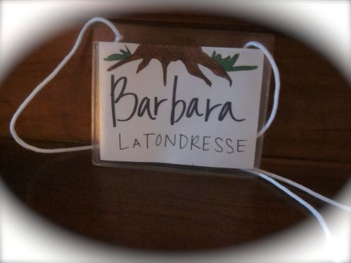 Tree Nametag